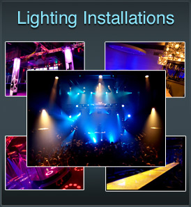 Lighting Installation for Nightclubs